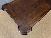 Good 19th Century Carved Oak Table (7 of 15)