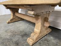 Rustic Bleached Oak Farmhouse Refectory  Table (14 of 21)