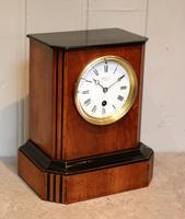 Walnut Timepiece Mantel Clock (6 of 14)