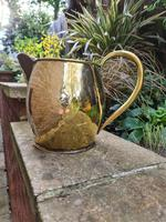 Large 18th Century Brass Pouring Jug (3 of 9)