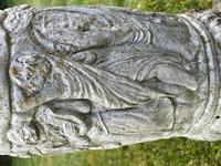 "Roman Style Stone Garden Bronze Floral Sundial ""Sunny Hour"" (25 of 30)"