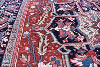 Antique Heriz Carpet 366x228cm (10 of 10)