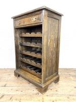 Early 20th Century Antique Oak Wine Rack (4 of 9)
