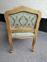 Superb quality pair of 19th century French giltwood window seats (2 of 8)