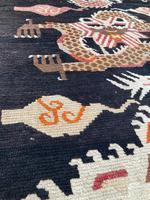 Antique Tibetan Dragon Rug (3 of 9)