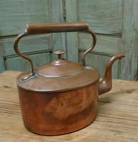 Charming 19th Oval Century Copper Kettle (5 of 9)