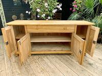 Big! Old 2m Pine Dresser Base Sideboard / Cupboard / TV Stand - We Deliver! (9 of 13)