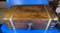 Victorian Brass-bound Walnut Writing Slope with Secret Drawers (27 of 39)