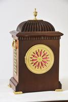 Brass Inlaid Mahogany Bracket Clock (4 of 5)