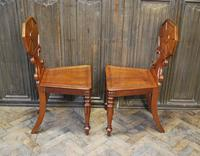 Pair of Fine Quality Regency Hall Chairs (6 of 7)