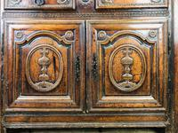 Gothic Antique Carved Oak Dresser (6 of 10)