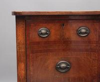 19th Century Inlaid Mahogany Serpentine Sideboard (7 of 8)