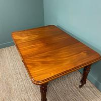 Small Quality Mahogany Antique Victorian Extending Dining Table (6 of 9)