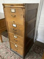 Oak Filing Cabinet (6 of 9)