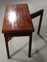 Good Chippendale Period Card Table (5 of 7)
