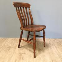 Harlequin or Near Matched Set of 8 Kitchen Chairs (3 of 7)
