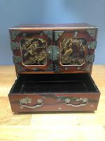 Antique Oriental Lacquered Table Cabinet (8 of 11)