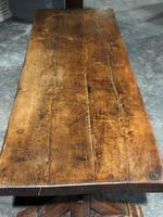 Huge Rustic Chestnut French Farmhouse Dining Table (26 of 27)