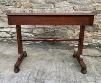 Antique Regency Mahogany Library Table (14 of 14)