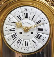 Wow! Incredible French Gilt Mantel Clock Visible Pendulum Glass Panels 8 Day Mantle Clock (8 of 9)