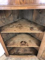 19th Century Antique Oak Corner Cupboard (4 of 7)