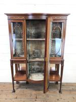 Antique Glazed Display Cabinet (3 of 14)