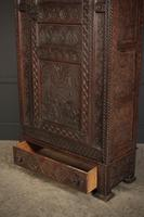 Carved Oak Hall Cupboard (7 of 15)