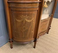 Maple & Co Inlaid Mahogany Display Cabinet (15 of 17)