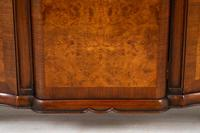 Stunning Burr Walnut 3 Door Side Cabinet (9 of 9)