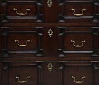 Mid 18th Century oak moulded front chest of drawers (7 of 10)