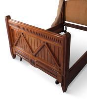 Oak Half Tester Bed (18 of 19)