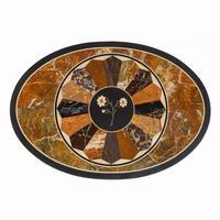 Victorian Walnut & Pietra Dura Table (14 of 16)