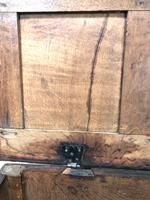 18th Century Carved Oak Blanket Box (5 of 11)