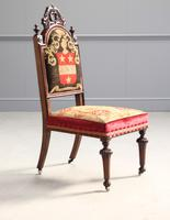 19th Century Rosewood Side Chair