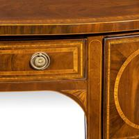 George III Sheraton Period Mahogany Bow Front Sideboard (4 of 7)