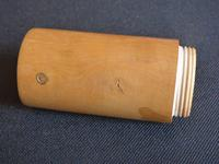 Boxwood talcum holder or pounce pot (3 of 10)