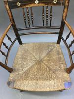 Regency Painted Sussex Chair (9 of 12)