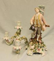 Antique German Porcelain Candelabra (13 of 18)