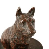 Late 19th Century Bronze Terrier (7 of 8)