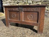 Small 17th Century Devon Oak Coffer (6 of 21)