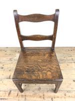 Four 19th Century Oak Farmhouse Chairs (6 of 17)