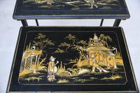 Nest Oriental Black Lacquer Tables (12 of 13)