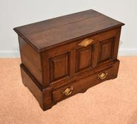 18th Century Welsh Oak Marriage Coffor Bach / Coffer (5 of 8)