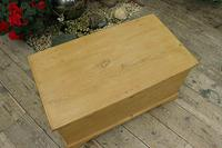 Fabulous & Restored Pine Blanket Box / Chest / Trunk / Coffee Table (3 of 9)