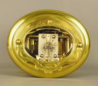Oval Repeating Carriage Clock with Calendar & Alarm (2 of 10)