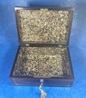 William IV Rosewood Jewellery Box (11 of 13)