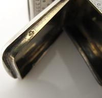 French antique silver combination vesta/cheroot cutter Paris c 1880 (4 of 14)