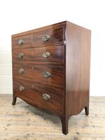 Antique 19th Century Mahogany Chest of Drawers (8 of 14)