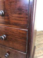 Victorian Mahogany Straight Front Chest of Drawers (6 of 16)