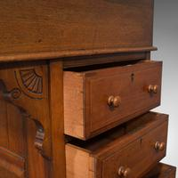 Antique Davenport, English, Walnut, Bird's Eye Maple, Writing Desk, Victorian (10 of 12)